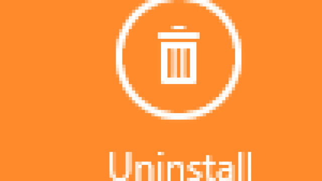 Uninstall an App